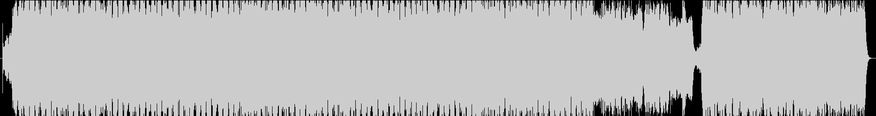 神秘的で儚いピアノとストリングスのBGMの未再生の波形