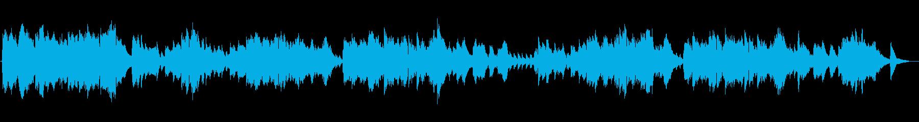 包み込むような優しいミュージックの再生済みの波形
