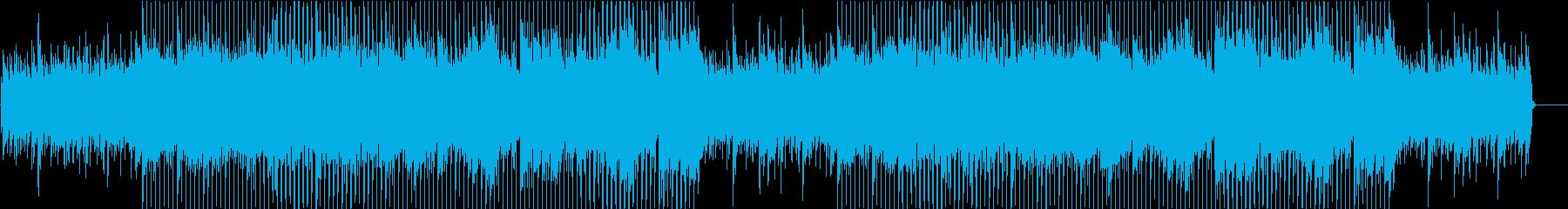 さわやかな朝を思わせるアコギのBGMの再生済みの波形