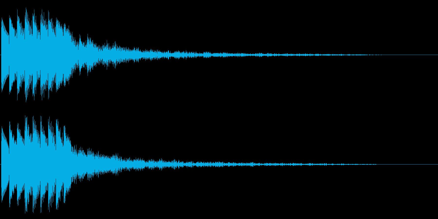 キラキラ/駆け上がり/場面転換/綺麗の再生済みの波形