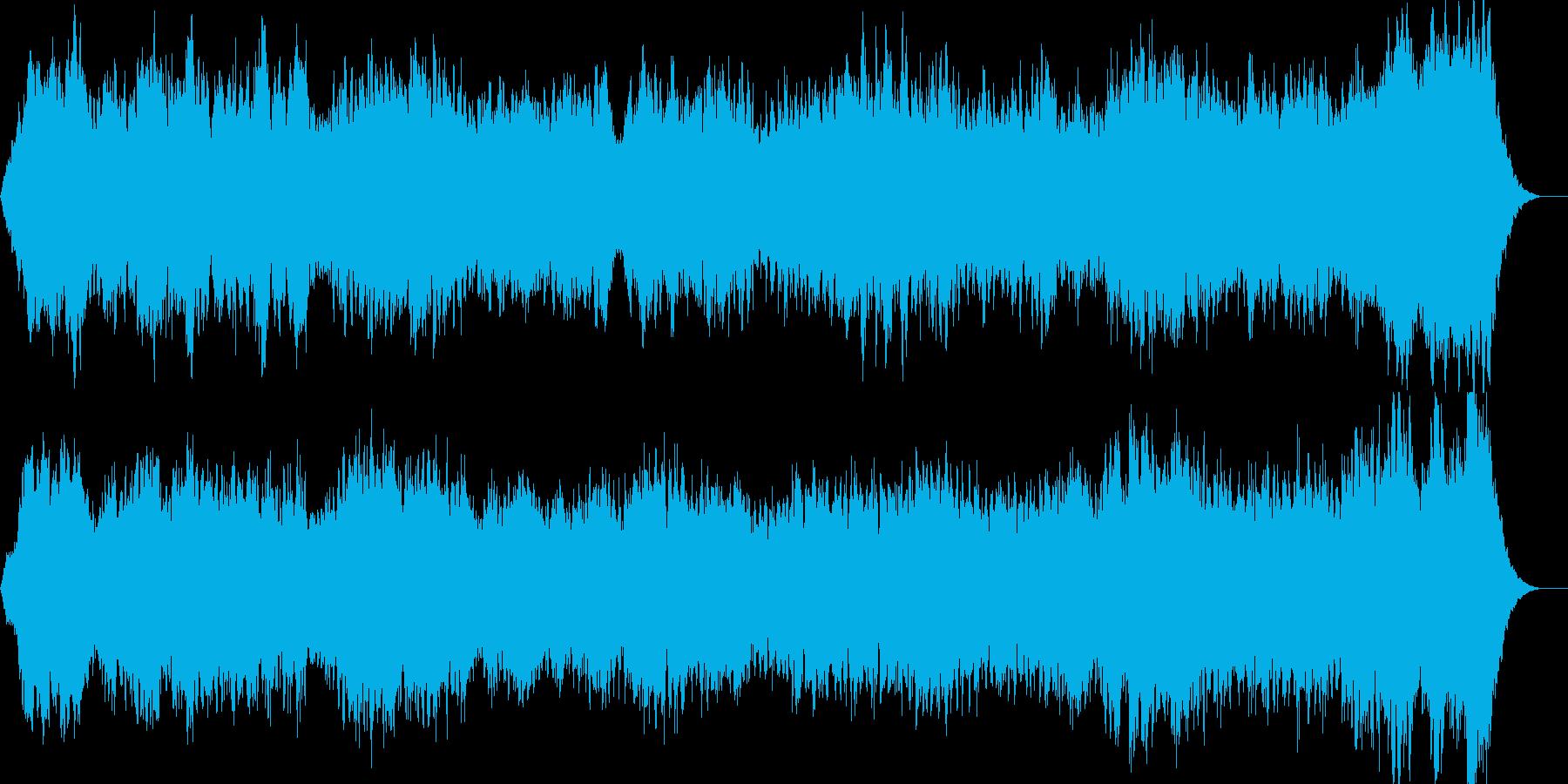 美しいストリングスのアダージョBGMの再生済みの波形