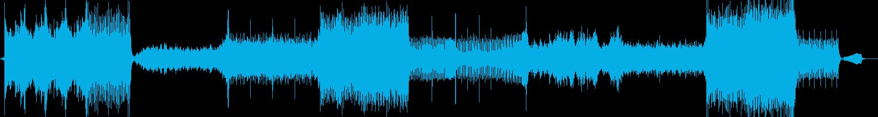 金管の目立つオーケスたら戦闘曲の再生済みの波形