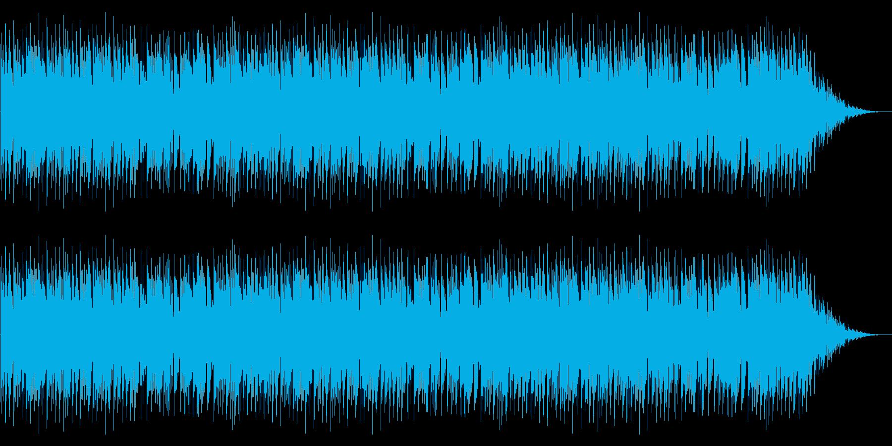 GB風アクションゲームのステージ曲の再生済みの波形