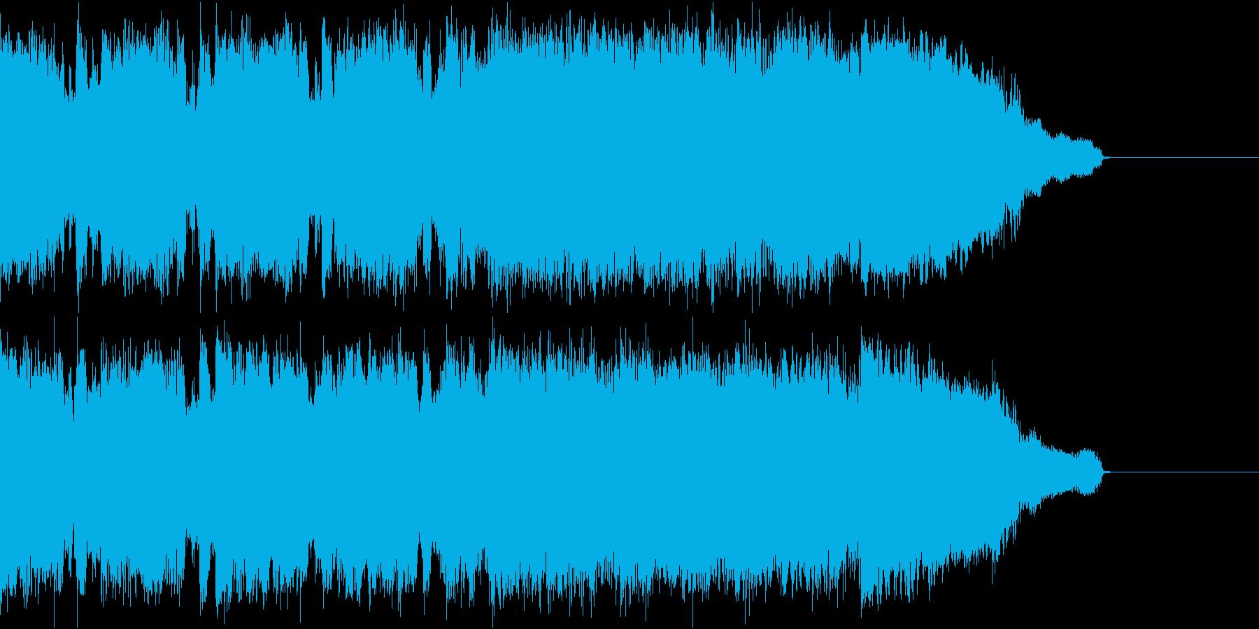 ポップなロック イントロ ジングルの再生済みの波形