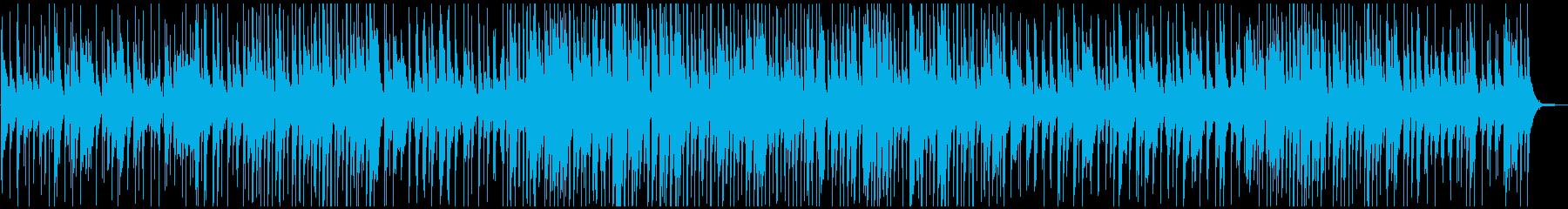 ジャズクラブで流れすようなスイングの再生済みの波形