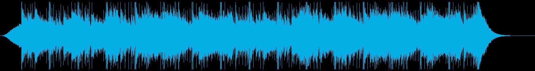 透明感のあるピアノバラードの再生済みの波形