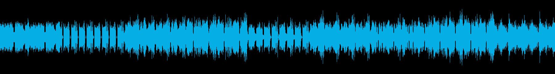 Loop version's reproduced waveform