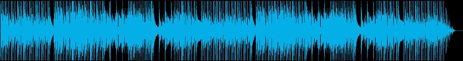 安心感ある、穏やかでポップな日常BGMの再生済みの波形