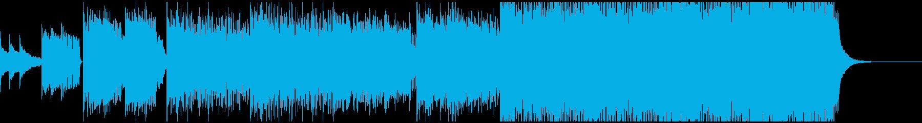 ドラムンベースの再生済みの波形