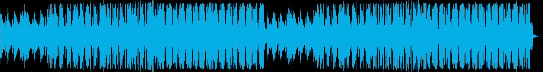 ファンタジーで感動的なフューチャーベースの再生済みの波形