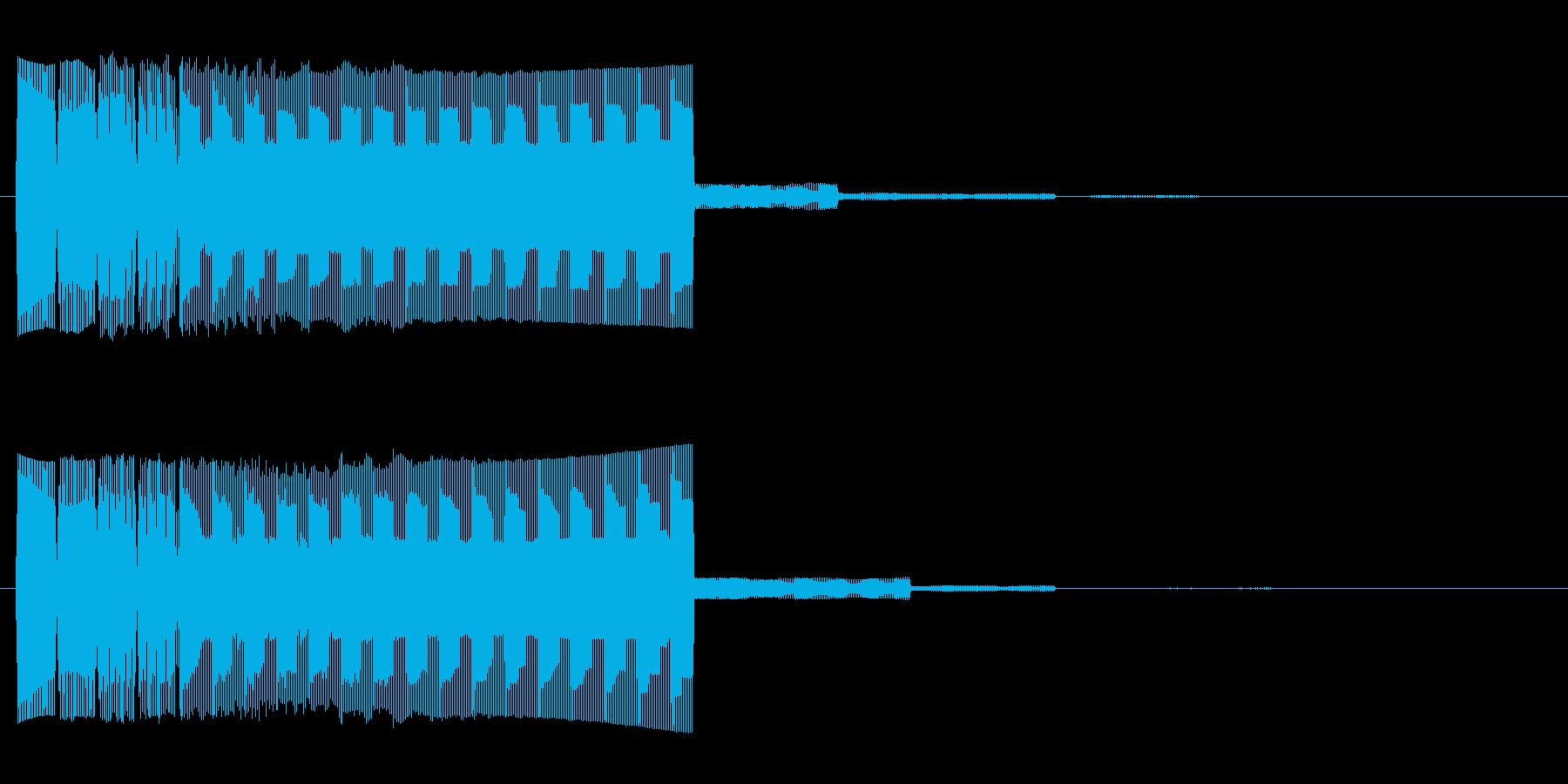 ゲーム、クイズ(不正解)_002の再生済みの波形