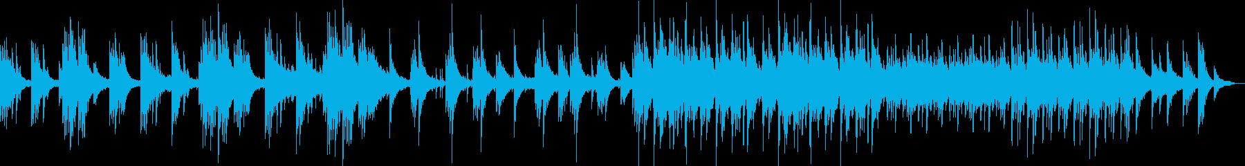 癒し系ピアノ森、早朝オーケストラ民族の再生済みの波形