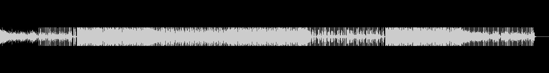 【パターン1】明るく元気なテクノポップの未再生の波形