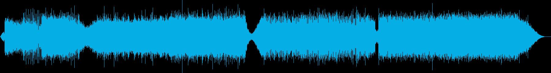 ヨーロッパ系EDMの再生済みの波形
