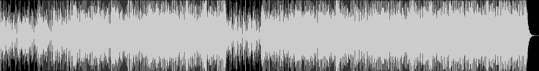 ハッピー ファニー ジョイフル フォークの未再生の波形
