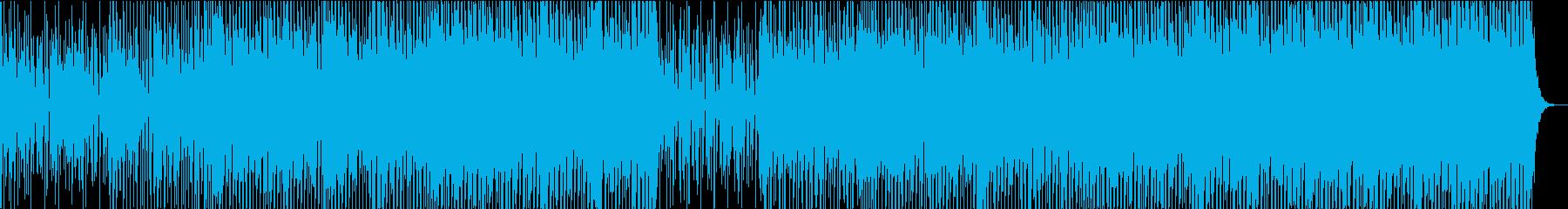 ハッピー ファニー ジョイフル フォークの再生済みの波形