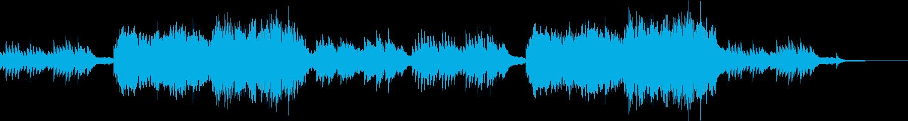 クラシック交響曲 憂鬱 悲しい ピ...の再生済みの波形