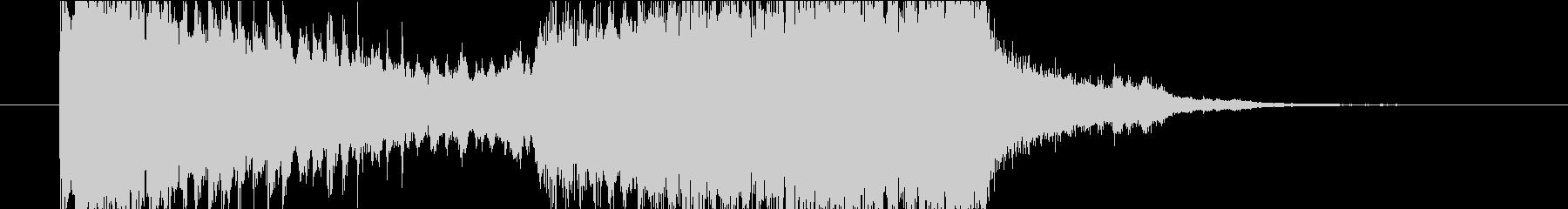 アイキャッチや場面転換などに。の未再生の波形