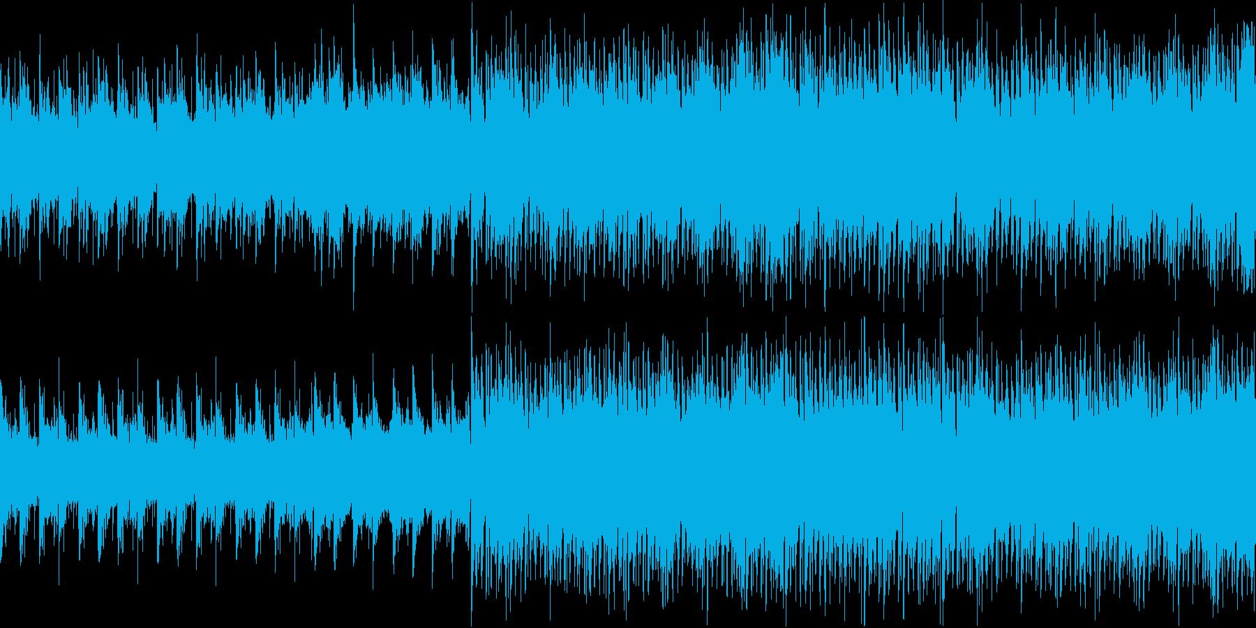 切なさと疾走感のアコギハウスループ音源の再生済みの波形