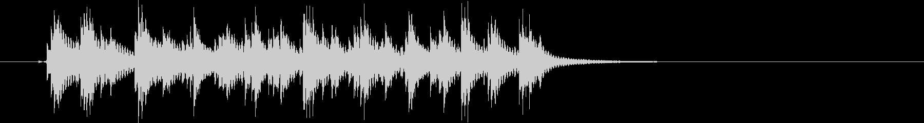 チリチリチリチリリーン(連打、危機迫る)の未再生の波形