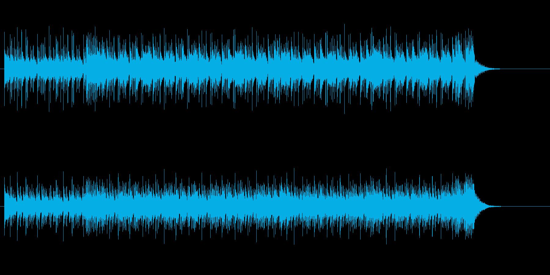 スタイリッシュでコミカルなスクラッチの再生済みの波形