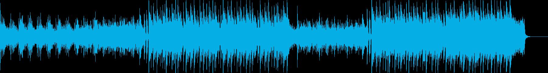 癒し系の穏やかな曲です。の再生済みの波形