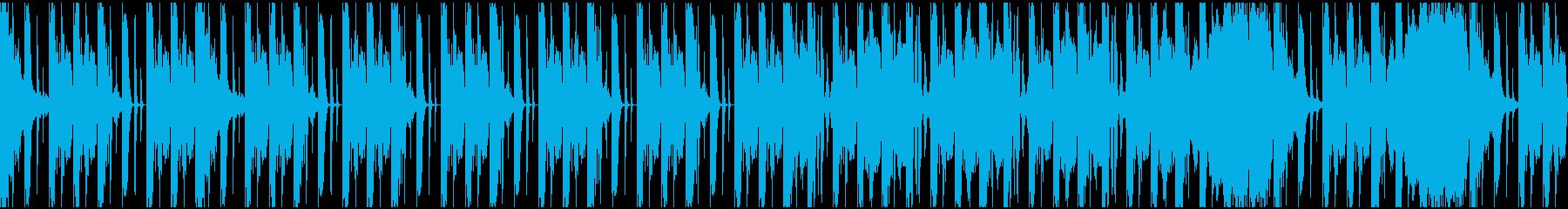 【ミステリアス】不気味ロング4の再生済みの波形
