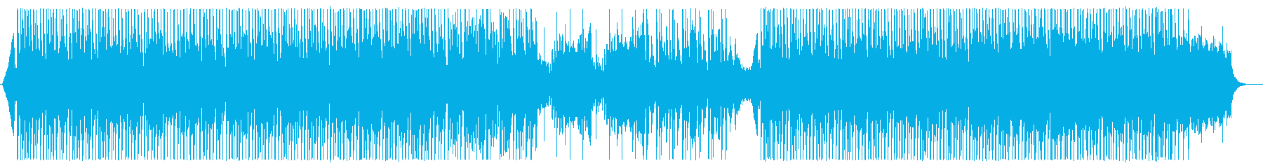 お洒落なハウスミュージックの再生済みの波形