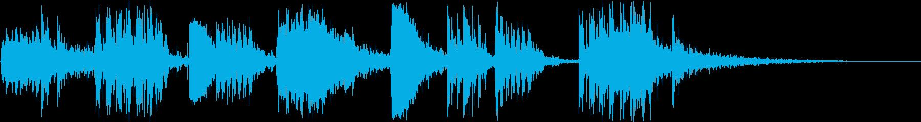マシンガンバトル:ミディアムガンフ...の再生済みの波形