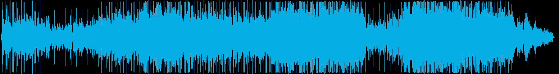 フォーク風の懐かしい雰囲気のバラード2の再生済みの波形