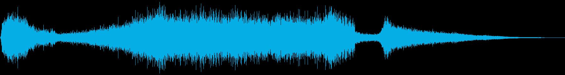エアロック圧力リリース、SCI F...の再生済みの波形