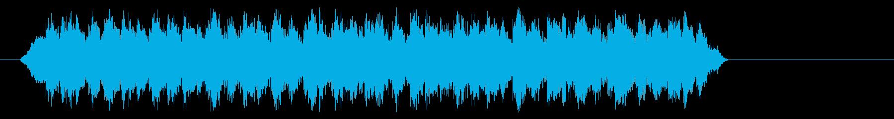 パニックの鐘の再生済みの波形