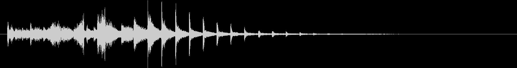 【ゲーム・アプリ】SFX_02 機械の未再生の波形