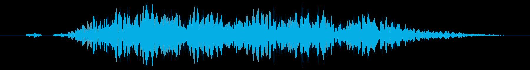 【打撃音17】パンチやキックに最適です!の再生済みの波形