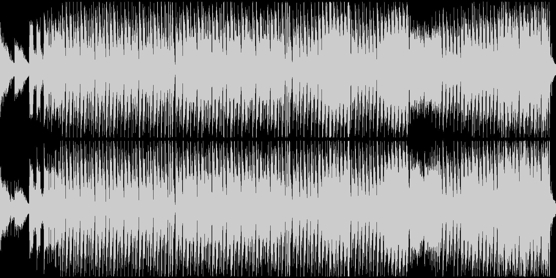 ポップなハロウィン曲(ループ)の未再生の波形