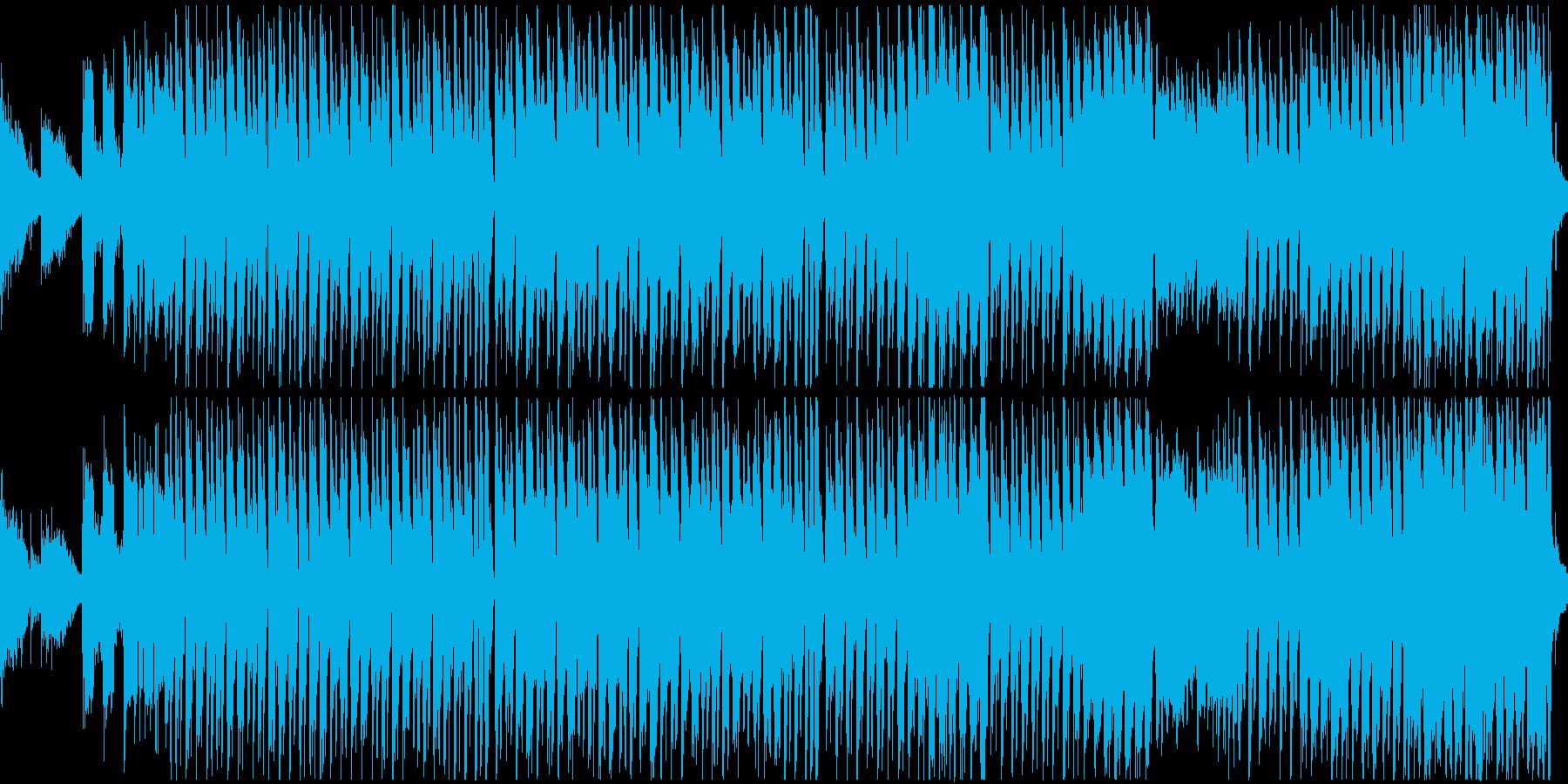 ポップなハロウィン曲(ループ)の再生済みの波形
