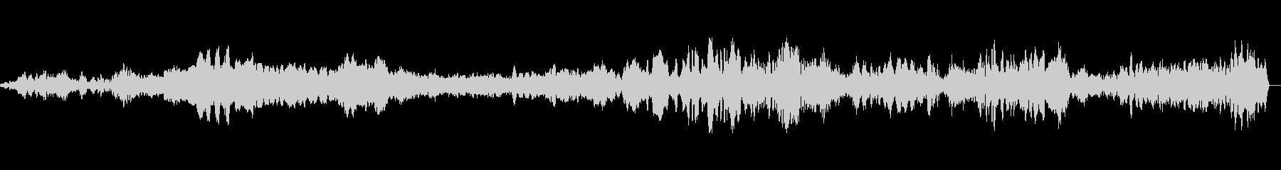 モンスターうめき声高の未再生の波形