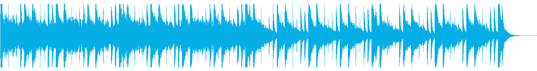 和を感じる切ないBGM_No604_5の再生済みの波形