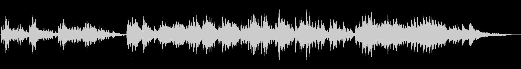 歓喜の歌ベートベン第九アレンジピアノソロの未再生の波形