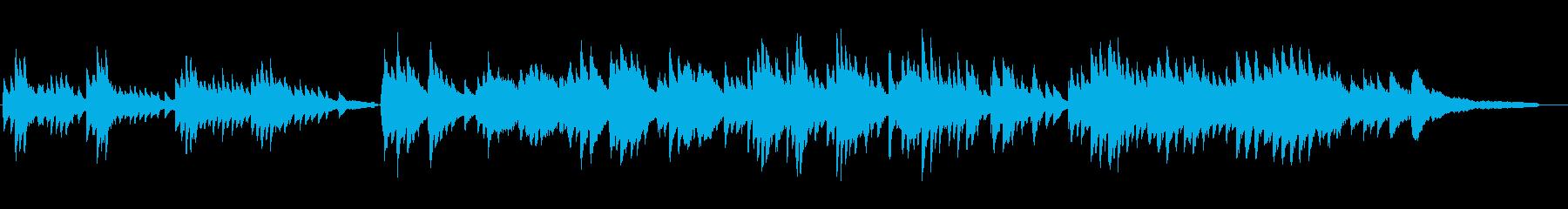 歓喜の歌ベートベン第九アレンジピアノソロの再生済みの波形