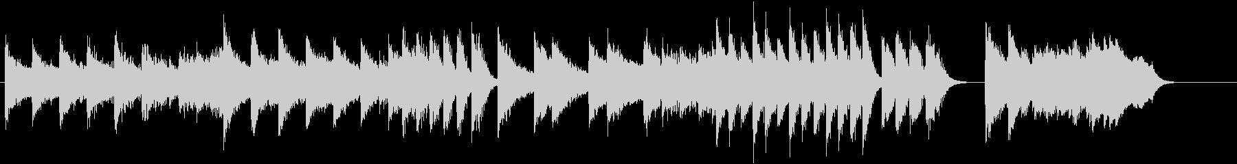 「花のワルツ」クラシックピアノジングルFの未再生の波形