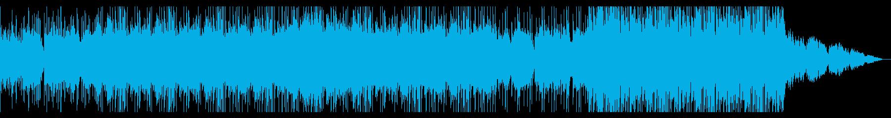 陰鬱でグリッジなロックの再生済みの波形