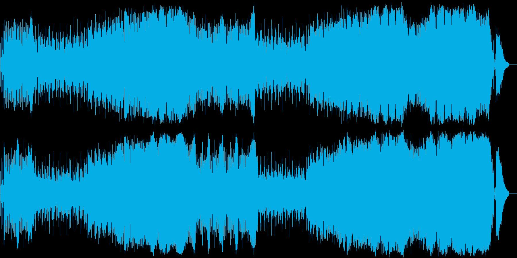 情熱的でアップテンポなインスト曲です。の再生済みの波形