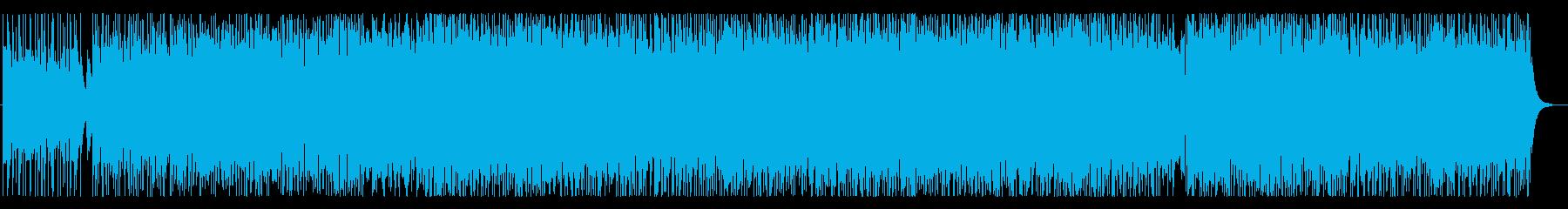 可愛い雰囲気のテクノポップの再生済みの波形