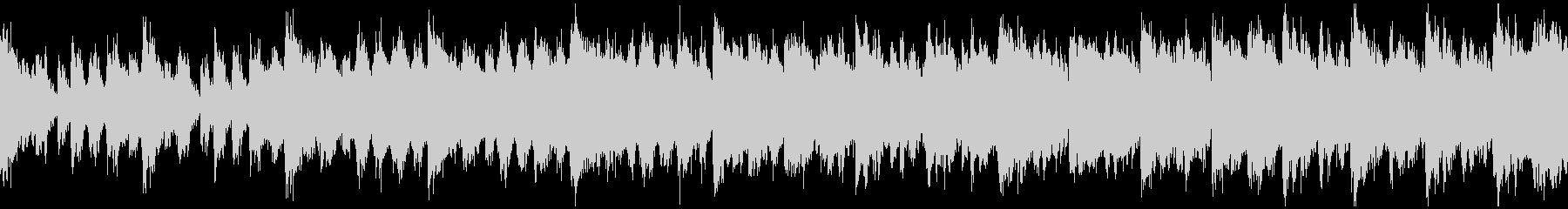 スチームパンク要塞のテーマ(ループ)の未再生の波形