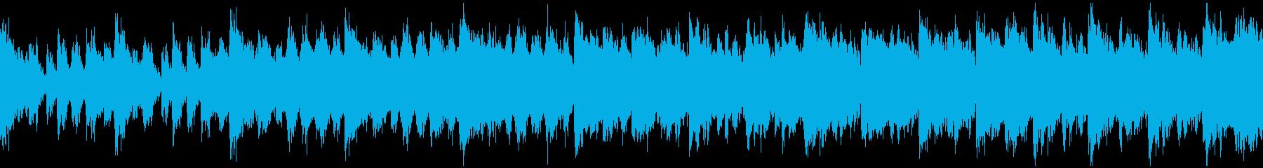 スチームパンク要塞のテーマ(ループ)の再生済みの波形