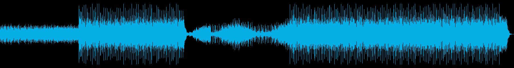 滑らかで活気のあるレトロな電子シン...の再生済みの波形