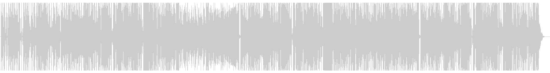 少し大人なシーンなどBGM。シンセの未再生の波形