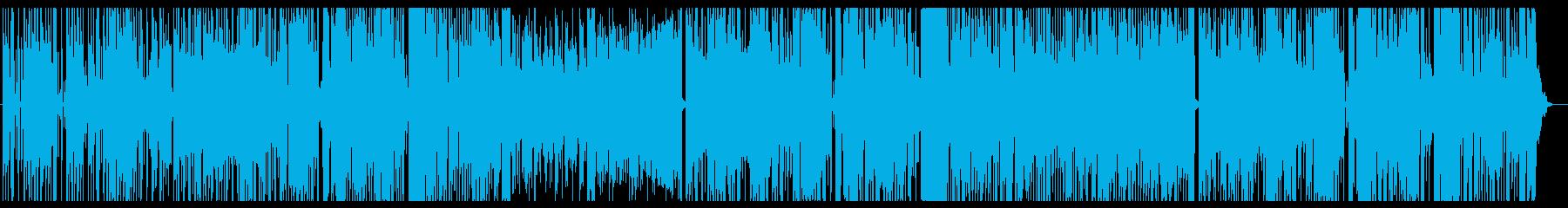 少し大人なシーンなどBGM。シンセの再生済みの波形