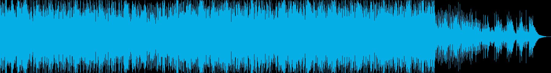 90s R&B風インストの再生済みの波形